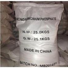 Mapa de Fosfato de Monoamonio de grado fertilizante 99%, Mapa 12-61-0 para Fertilizante