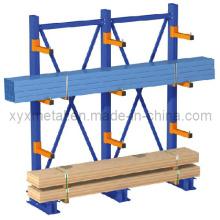 Pour rack à rangement cantilever en bois long ou en bois