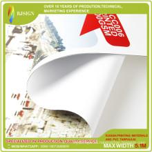 Frontlit retroiluminado PVC Flex Banner / PVC Roll / Blackout Banner