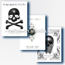 Skulls Skeleton Design Tattoo Book