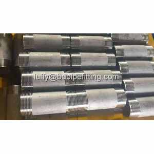 ASME B16.11 Socket Mengelas Steel Pipe Nipple