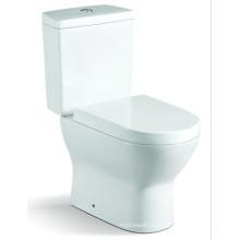 Санитарно-технические изделия Ванная комната Две части керамический туалет (6824)