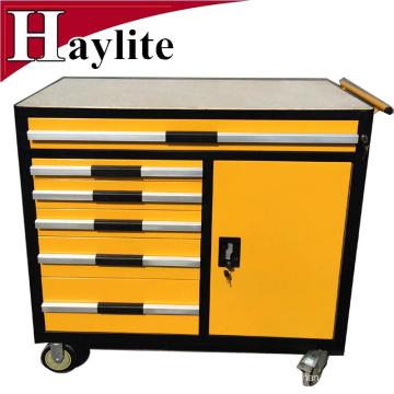car repair trolley tool box with trolley tool set