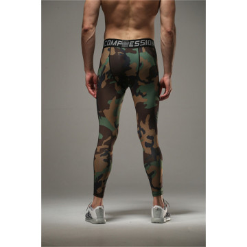 New Men Camo Camouflage tights Dry Fit Compression Pants