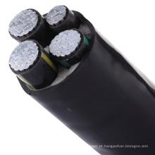 Quatro condutores de alumínio 400mm2 cabo XLPE