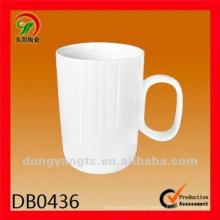 Фабрика прямые оптовые 12 унций простые белые керамические кружки и чашки