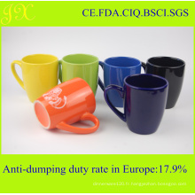 Tasse en céramique écologique en différentes couleurs