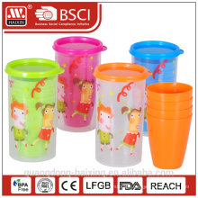Cup set 0.4L w/4 pcs cups