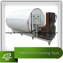 Réservoir de refroidissement au lait horizontal en acier inoxydable de haute qualité