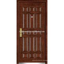 Stainless steel wood armored door , security stainless steel door