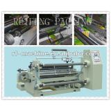 C-Automatic paper and plastic film roll Slitting and Rewinding Machine