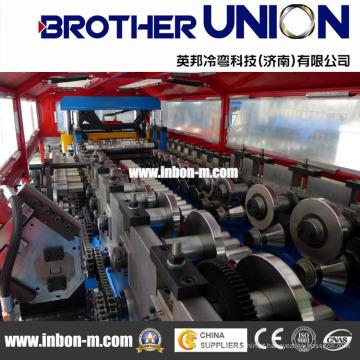 Alta velocidade de alta qualidade de alta eficiência tipo reboque Roll formando máquina