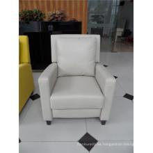 Sofá de salón con sofá moderno de cuero genuino (462)