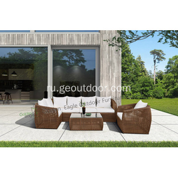 Outdoor+Wonderful+Wicker+Sofa+Set