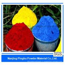 Revêtement en poudre coloré décoratif Ral