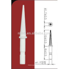 Cepillo de rímel delineador de ojos de silicona