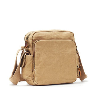 Vintage Design Canvas Mini Cross Body Sling Bag