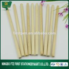 Hexágono / Lápiz de madera en blanco barato redondo
