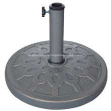 Beautiful Round Patio 13KGS Polyresin Umbrella Base