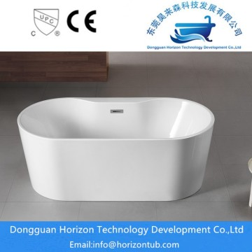 Acrylic freestanding traditional bathtub