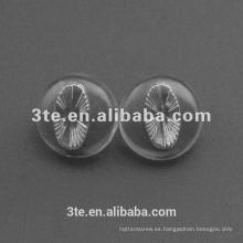 Almohadillas de nariz de vidrio de silicona de alta calidad con 19mm