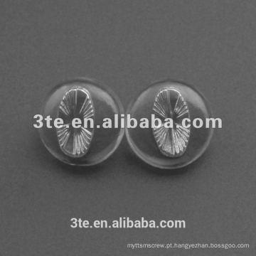 Almofadas de nariz de vidro de silicone de alta qualidade com 19mm