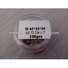 Micro-anneau de silicium pour l'extension de cheveux prix de gros