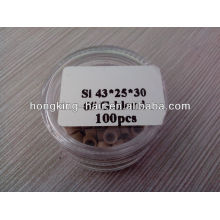 Silicon micro ring for hair extension wholesale price