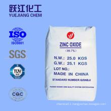99.7 Industry Grade Zinc Oxide for Rubber & Shoe Sole