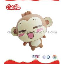 Juguete plástico de la figura del mono del Mici (CB-PM027-S)
