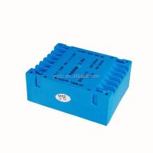 Low profile transformer PU3018B 12VA double 110V/double 9V flat type pcb transformer