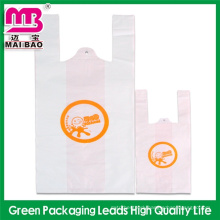 alternative printing tshirt bags plastic bag packaging bag