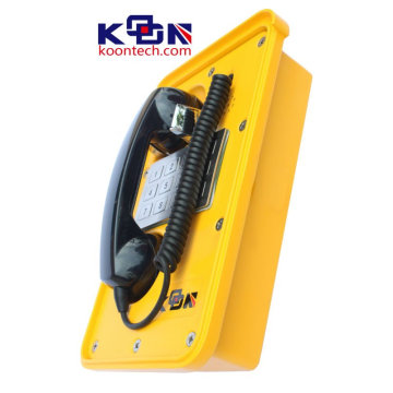 Industrial Public Emergency Telephone with Keypad