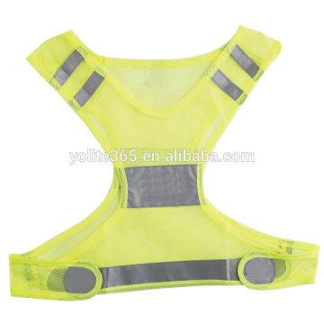 Mesh Reflective Safety Running Vest