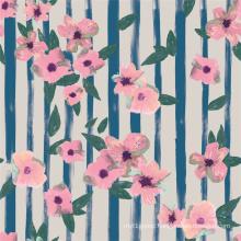 Low Price FDY Digital Print Silk Fabric (TLD-0006)
