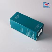 Sencai gros délicat personnalisable logo cosmétiques boîte d'emballage