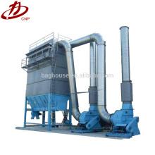 O uso de poeira de alumínio absorve a máquina de pó