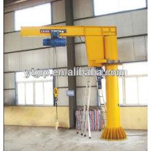 3000 ventas 0.5t mini grúas giratorias columna montada Jib Crane precio a la venta
