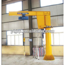3000 Sales 0.5t mini cranes Slewing Column Mounted Jib Crane Price For Sale