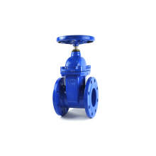 DN400 PN16 ductile iron Direct buried telescopic rod gate valve