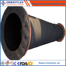 Best Quality Rubber Mud Suction Dredging Hose with Flange
