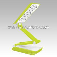 Lampe rechargeable en plastique de Tableau d'étude de LED, lampe de lecture focalisée portative moderne
