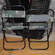Cadeira de pesca dobrável, cadeira de caça ao ar livre com relatório de ensaio