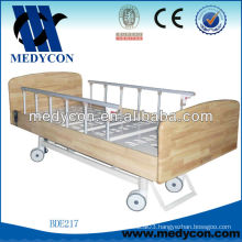 BDE506B Wooden panels 2 function wooden full electric bed