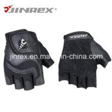 Gym Training Half Finger Fitness Leder Gewicht Lifting Sport Handschuhe