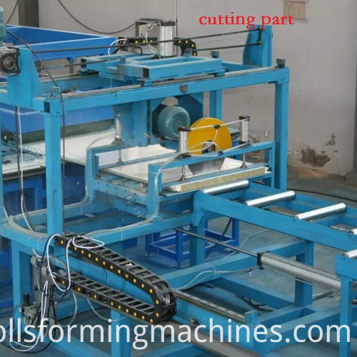 Sandwich Roof Roll Forming machine
