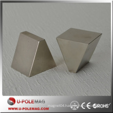 Professional N45H Thick Trapezoid Neodymium Magnet