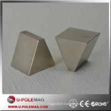 Professional N45H Thick Trapezoid Neodymium Magnet