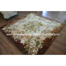 Raschel Mink Hotel Acrylic Prayer Shaggy Carpet/Rug (MQ-RCP002)