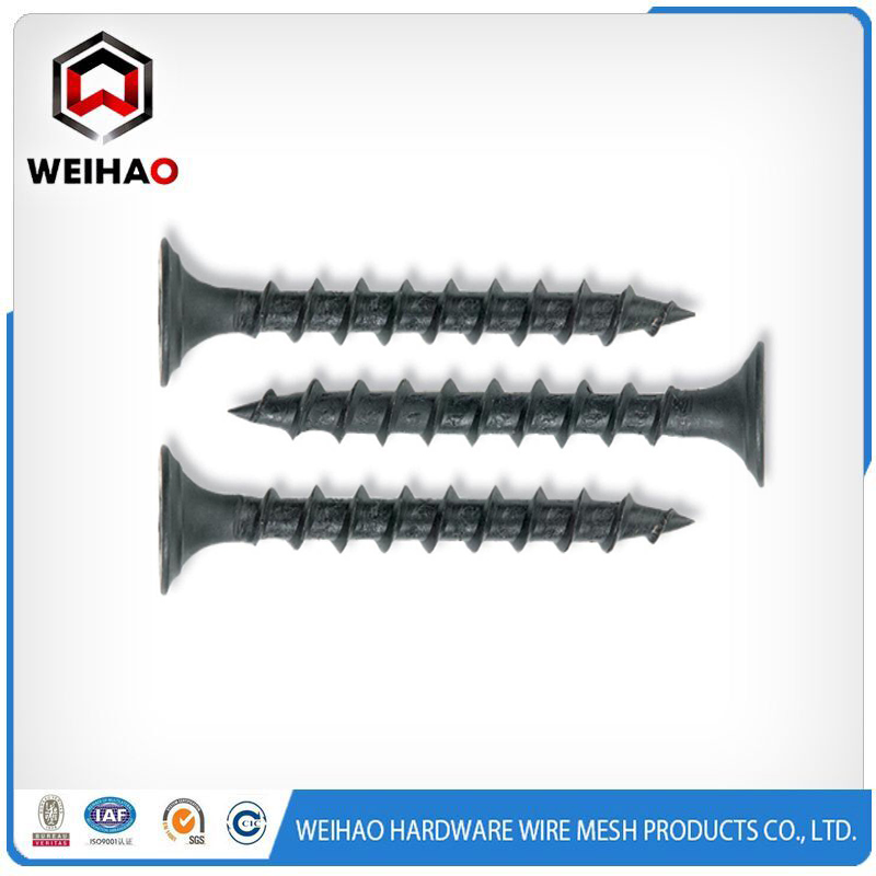 black or grey phosphated Drywall Screw